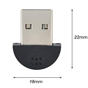 ラズパイに接続した小型USBマイク